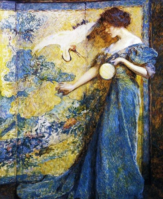 [ R ] Robert Lewis Reid - The Mirror (1910) by Cea.