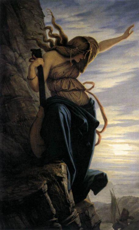The Lorelei, 1864 by Edward Jakob Steinle