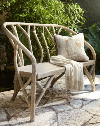 Artemis Faux Bois Outdoor Furniture Horchow
