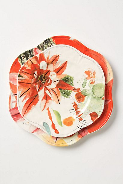 Meadowsweet Dinner Plate by Anthropologie