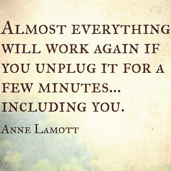 anne lamot via Science of Mind magazine
