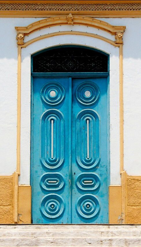 door in Brazil via flikrcom