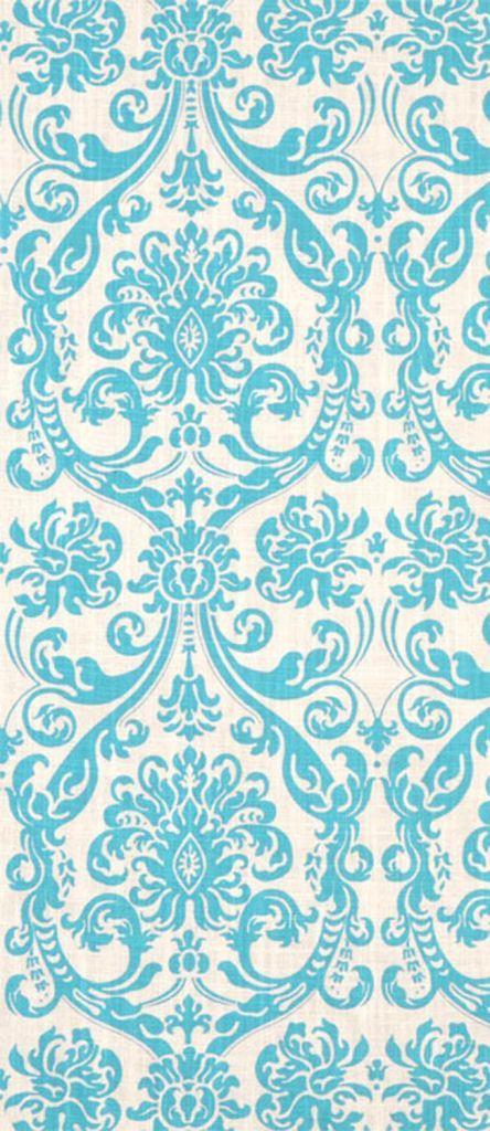 Premier Prints Abigail Mandarin_Blue Dossett Fabric