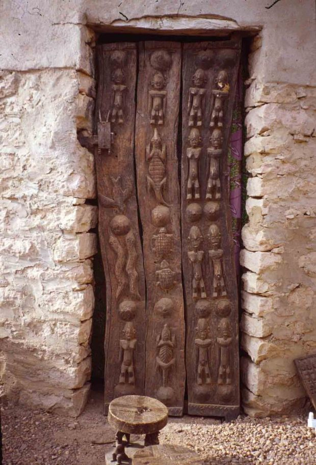 Africa, Dogon door, Mali via lumberjocks