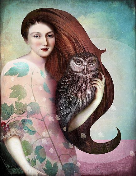 Catrin Welz-Stein_She and her Owl