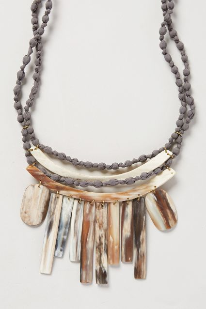 Legend & Song Daylight Horn Necklace Anthropologie