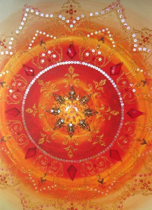 Orange Sacral Chakra ~ Om Rakini Namaha ~ I activate my happiness