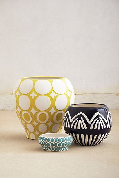 Ormand Garden Pot via anthropologie
