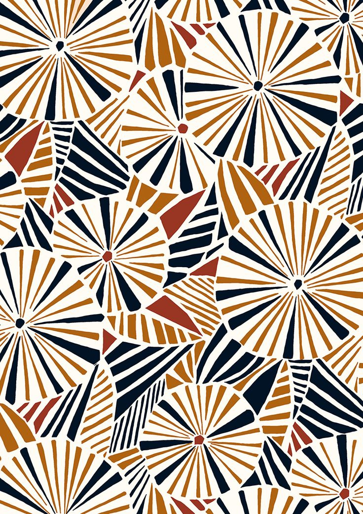 Luscious image in printable patterns