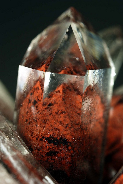 Red Phantom Quartz by fluor_doublet on Flickr