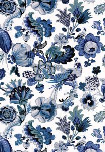 Schumacher Cambourne Porcelain Blue SKU - 173821