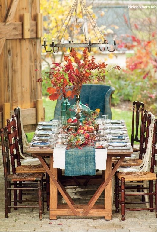 Thanksgiving Rustic Indeed Decor