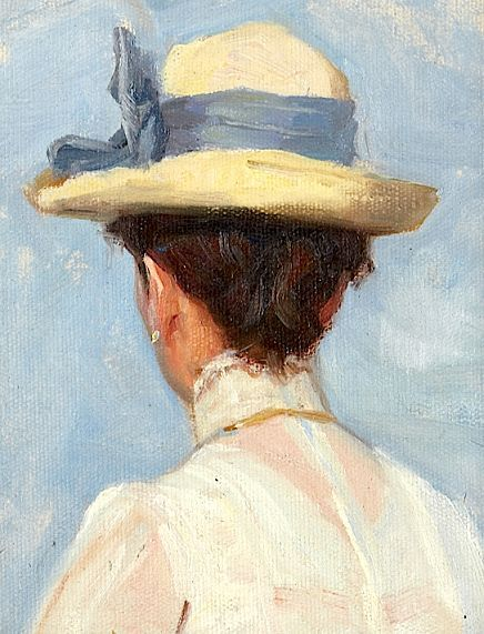 via Pin by Dorothy on ART A Lady's Chapeaux