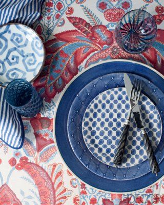 Wonki Ware Organic Dinner Plate from Bergdorf Goodman in Elle Decor magazine
