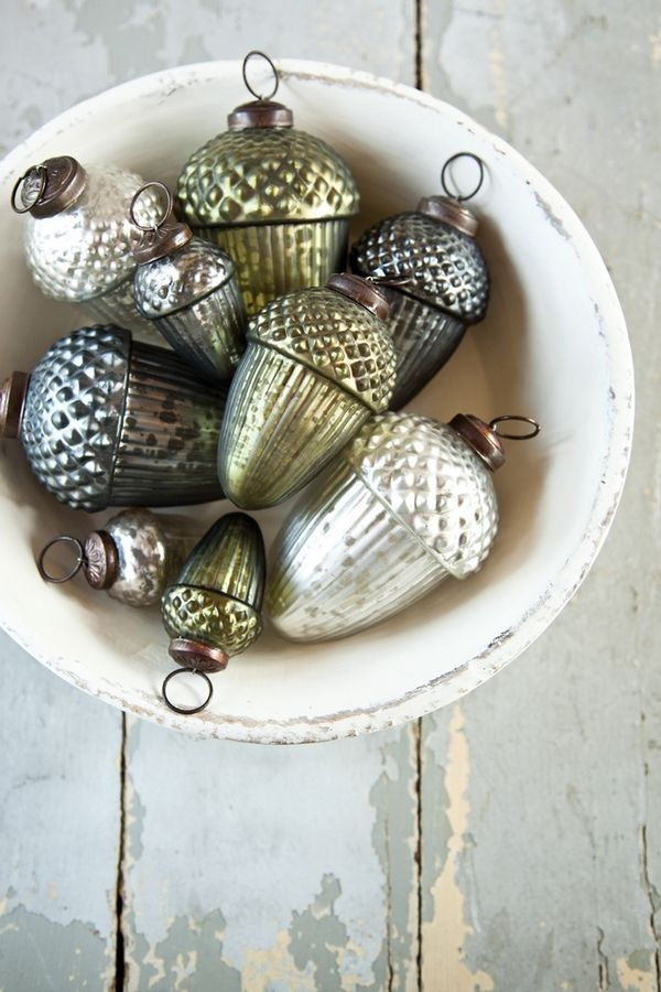 acorn ornaments