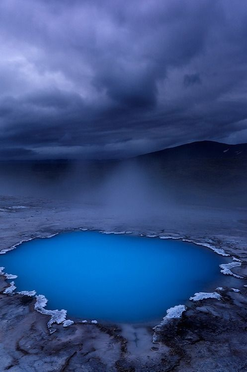 Blue Oasis Hveravellir, Iceland by Ben H
