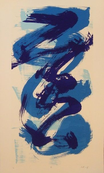 by Kazuo Shiraga