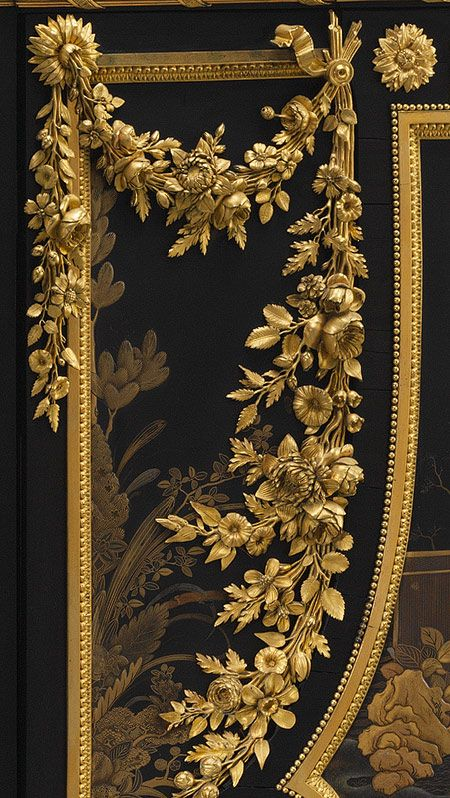 Antique Louis XVI secretary, 1783 ~ by Jean Henri Riesener (French, 1734–1806). made for Queen Marie Antoinette at Versailles.