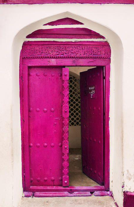 Pink door. moorbay.tumblrdotcom