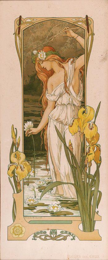 Elisabeth Sonrel - Spring, 1900