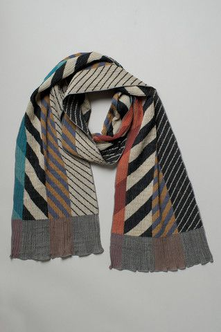 Arrow Feathers Scarf by NUNO