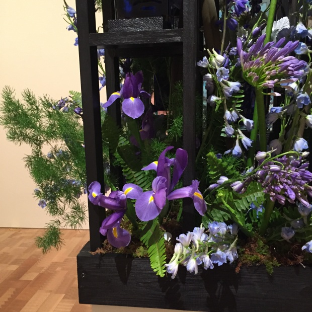 Blue and purple at Art in Bloom_Jessica Sackett