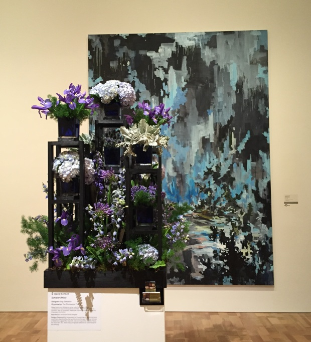 Blue at Art in Bloom