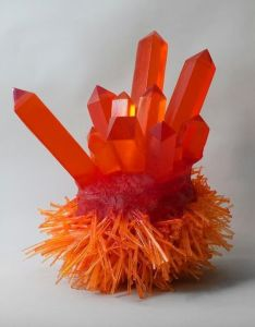 Carson Fox - Orange Crystal Spikes