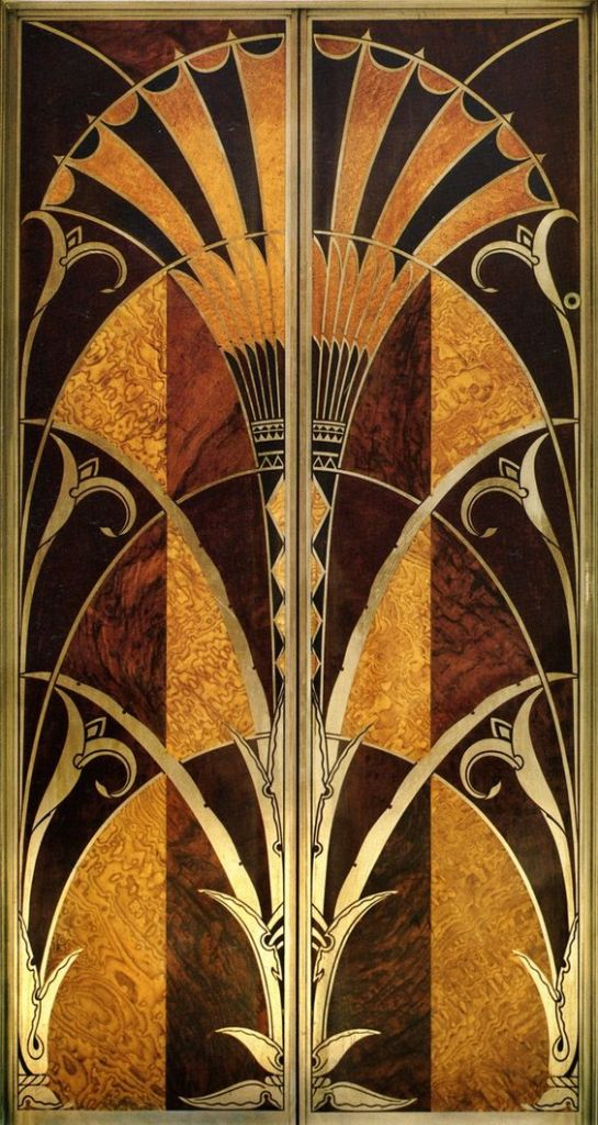 Chrysler Building Elevator door, New York City - 1930 - Architect - William Van Alen