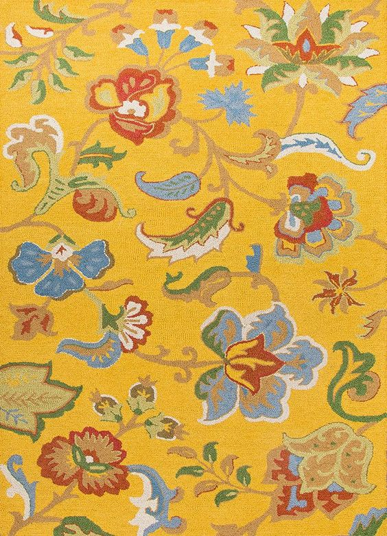 Hacienda Fiesta Daffodil Area Rug sold by FROY