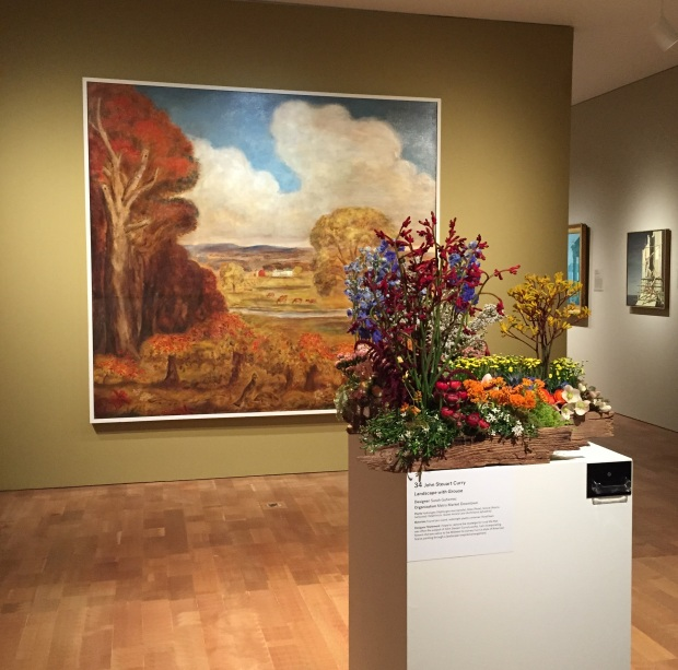 Landscape at Art in Bloom by Jessica Sackett