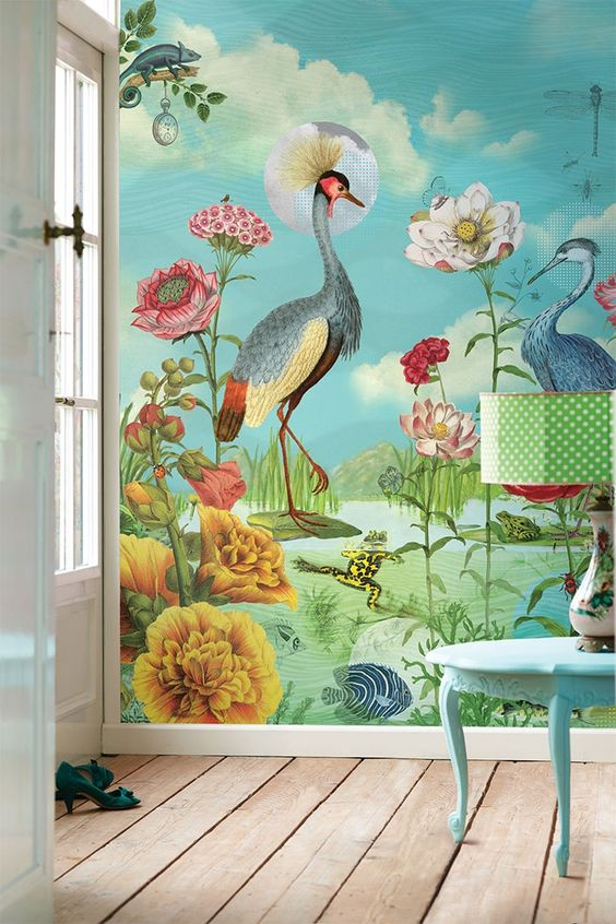 PiP Kiss the Frog Wallpaper from PiP Studio ©