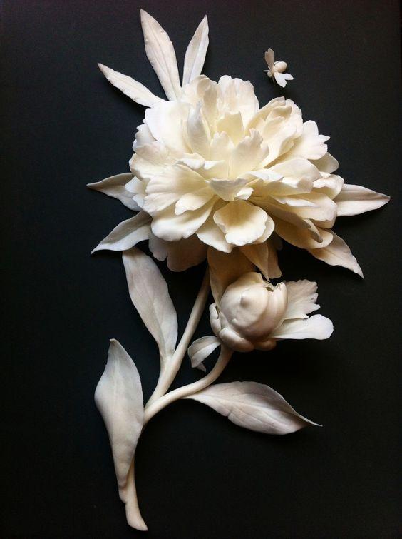 Porcelain peony by lada Peskova, 2013