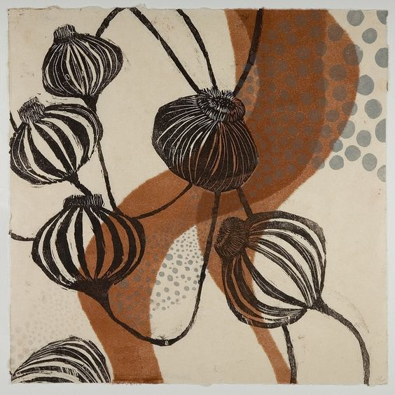 Sandra Cardillo, MA, USA woodcut and monoprint