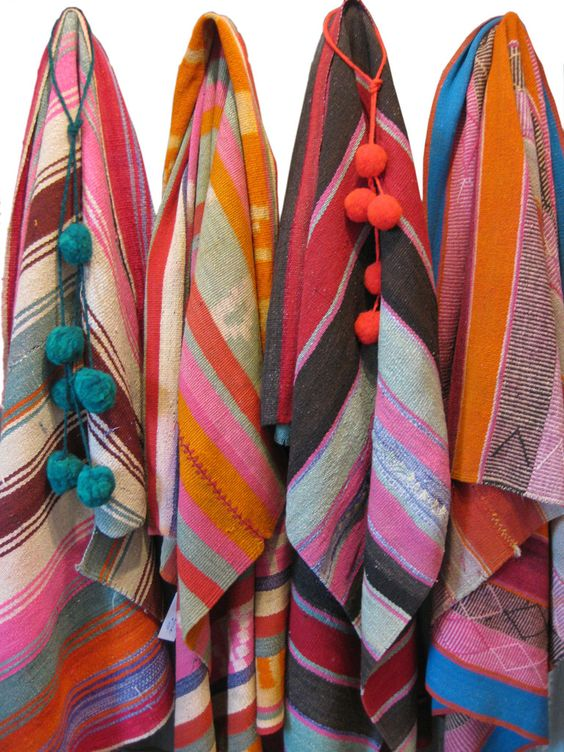 Vintage Textiles from the north of Argentina – diseño bos