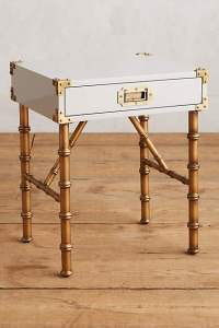 wellington side table via anthropologie