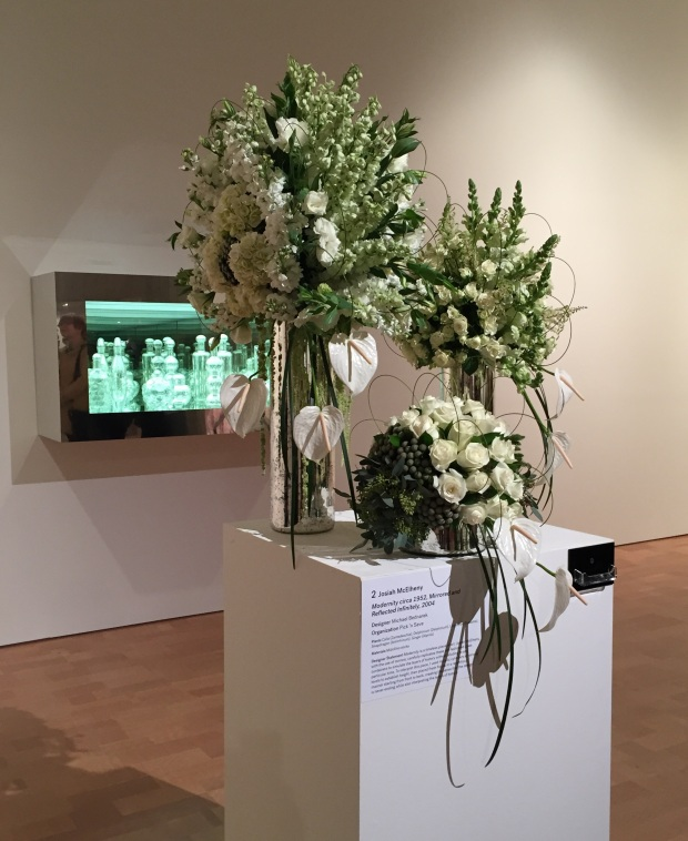 White at Art in Bloom by Jessica Sackett