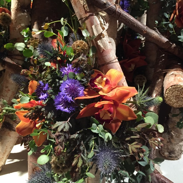 Woodland flowers at Art in Bloom_Jessica Sackett