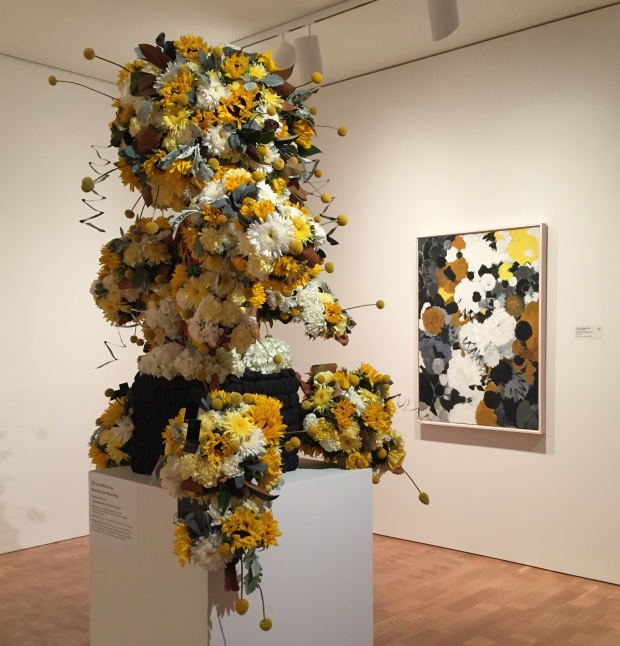 Yellow at Art in Bloom_Jessica Sackett