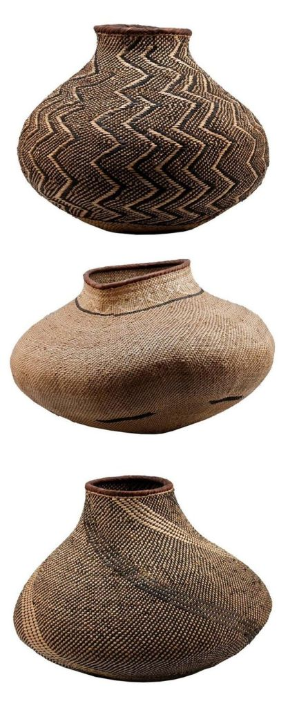 Africa, BaTonga Nongo (pot) baskets, Zimbabwe, Design Afrika ~ Made by hand