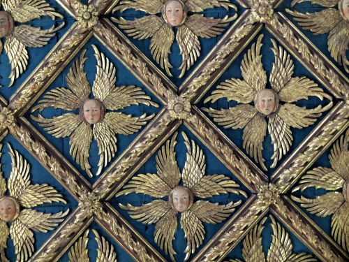 Ceiling in the Academia, Venice via thefullerview