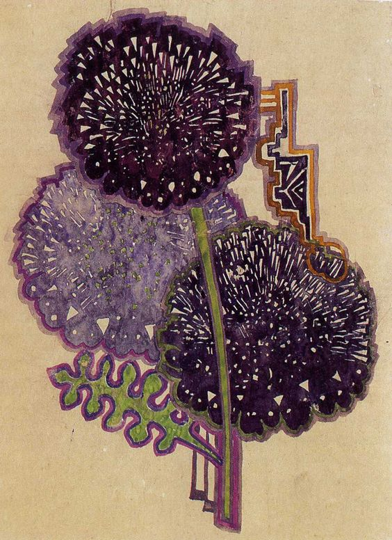 Charles Rennie MacKintosh 'Dahlias'