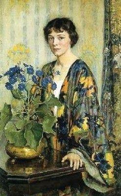 Lee Lufkin Kaula (American, 1865-1957) The silk kimono