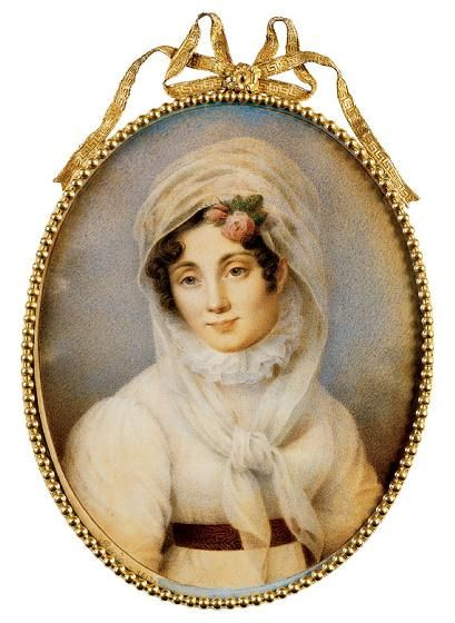 portrait-miniature-of-a-lady-by-joseph-bordes-1800s