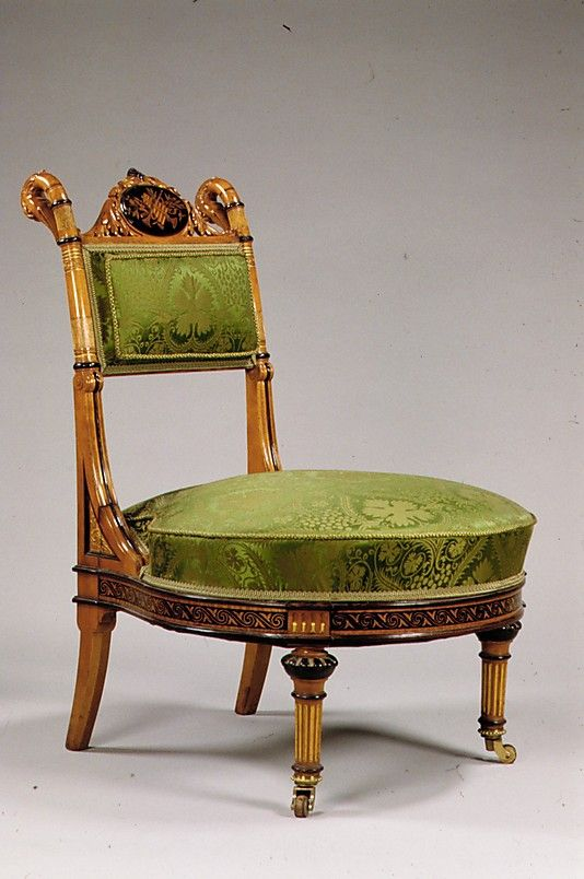 Sewing Chair Attributed to Herter Brothers