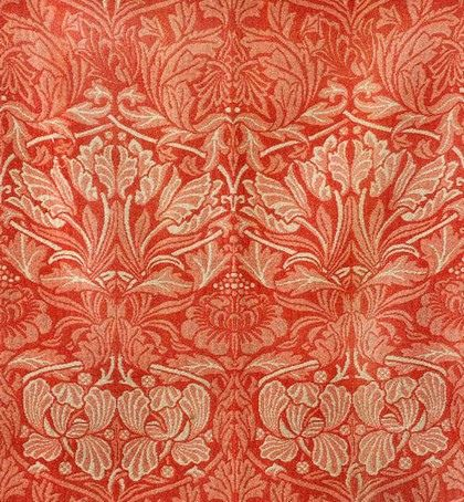 William Morris 'Tulip and Rose' 1876 Photo by The Textile Blog on Flickr