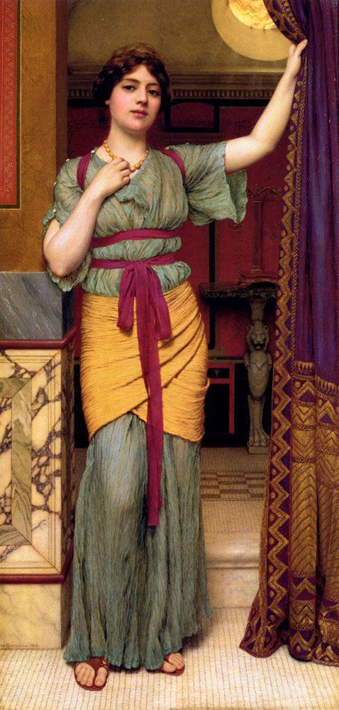 A Pompeian Lady, John William Godward