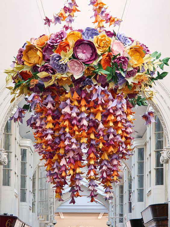 Artist Zoe Bradley, London's Burlington Arcade via Honestly WTF
