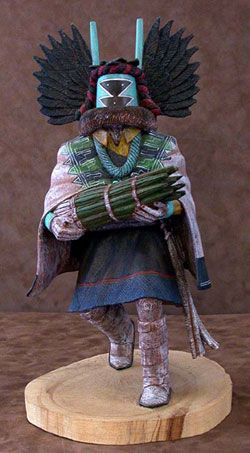 Hopi Kachina Doll - Crow Mother via camerontradingpostdotcom