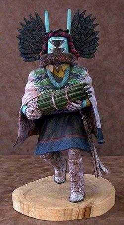 Hopi Kachina Doll - Crow Mother via camerontradingpostdotcom